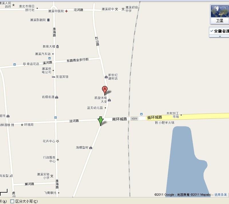 淮北汽校地图图片