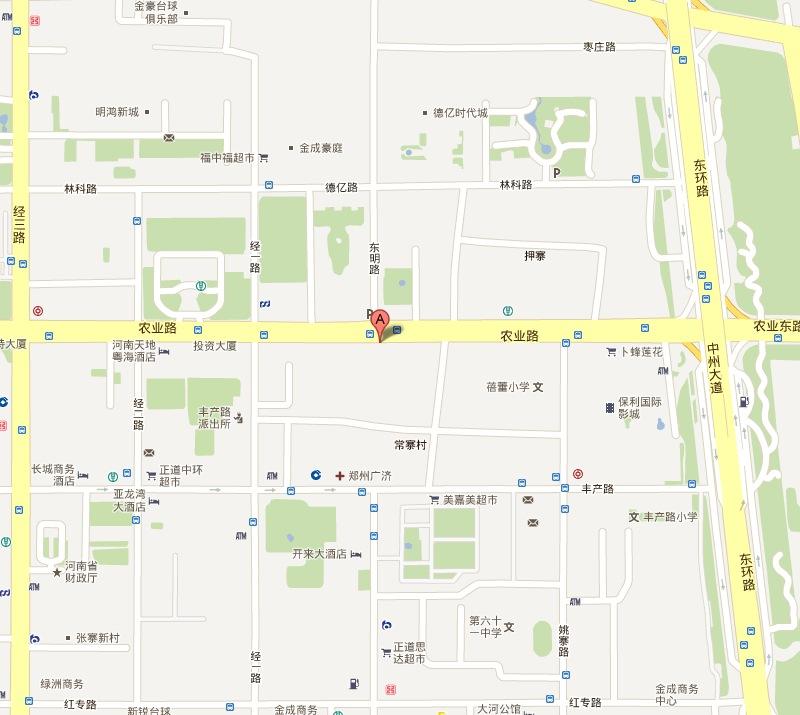 常德市白鹤山教校平面图