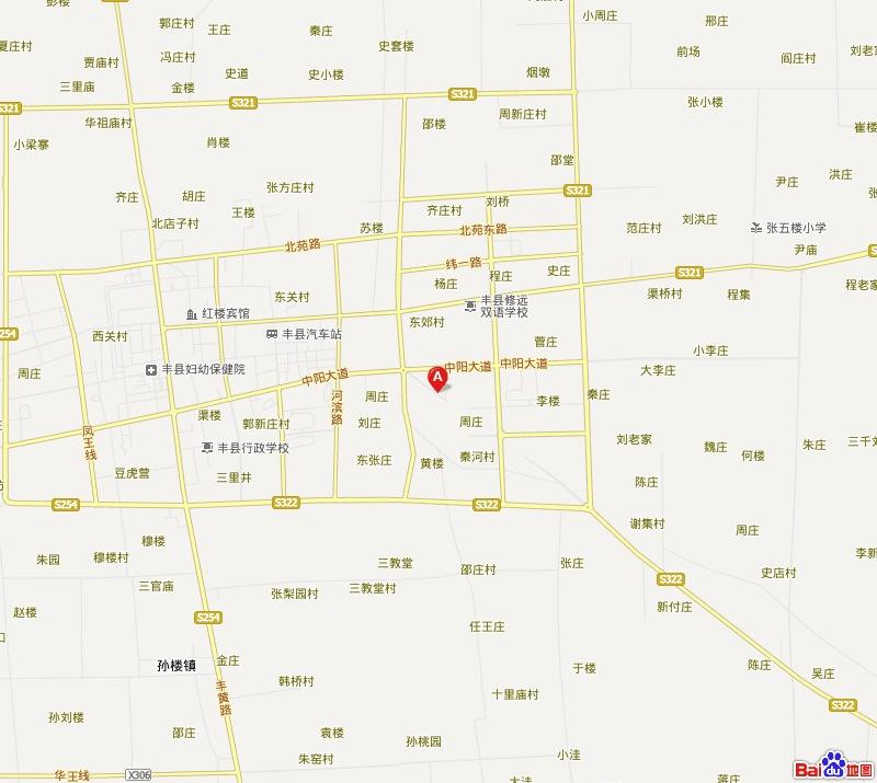 丰县到微山岛地图