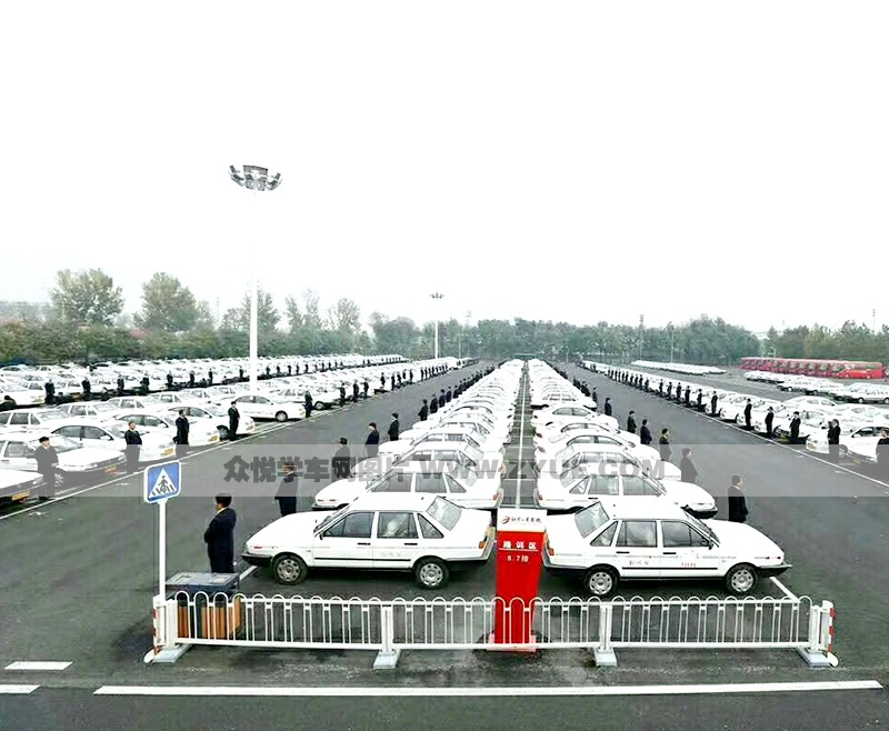 北京公交驾校场地