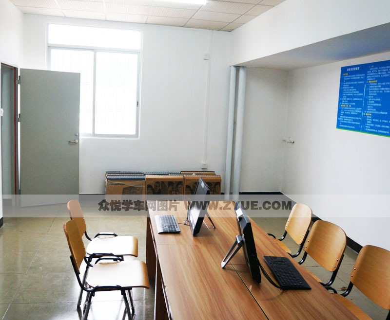 佛山盈通达驾校 计算机学习室