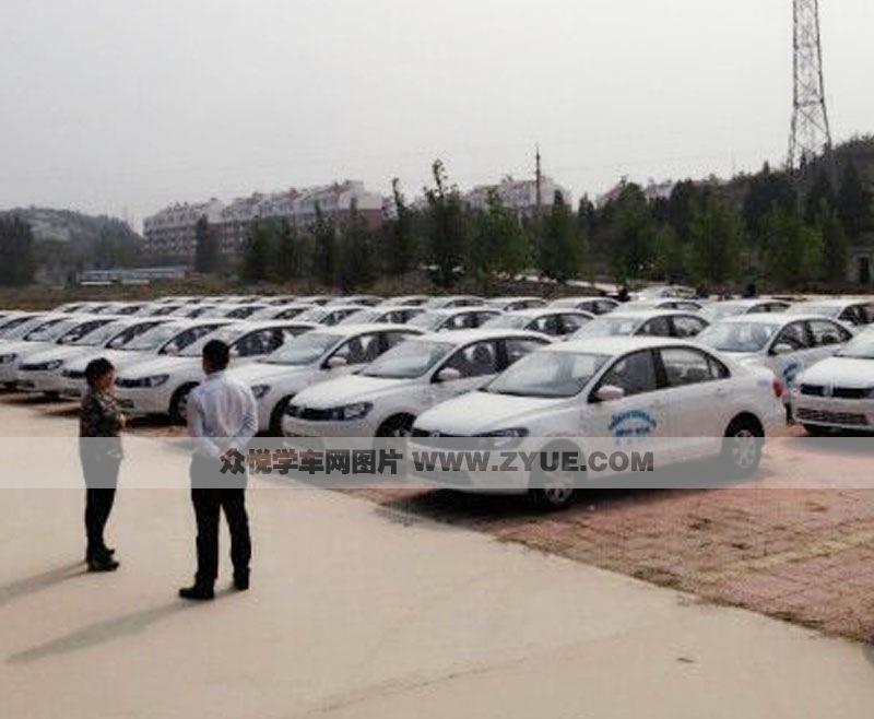 济南华通驾校训练车型