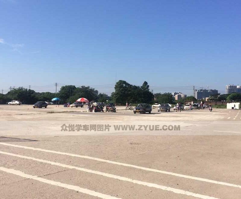 衡阳蓝盾驾校训练场