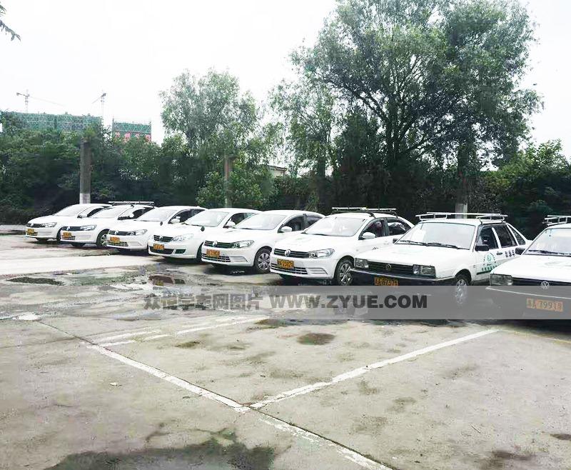 杭州市超时代驾校教练车展示