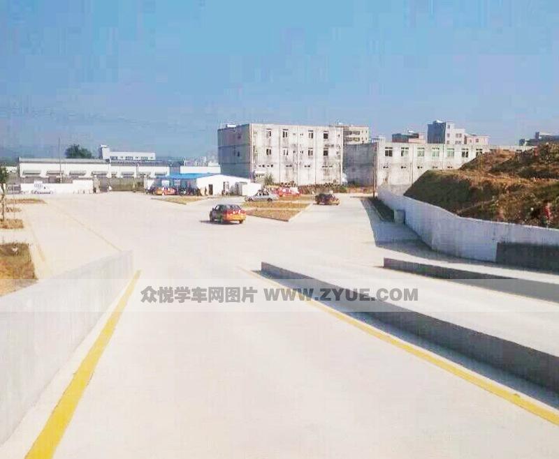 惠州凯旋驾校坡道定点停车和起步场地