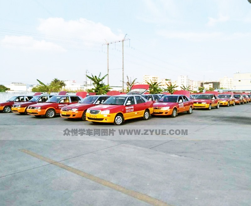 惠州凯旋驾校教练车规模