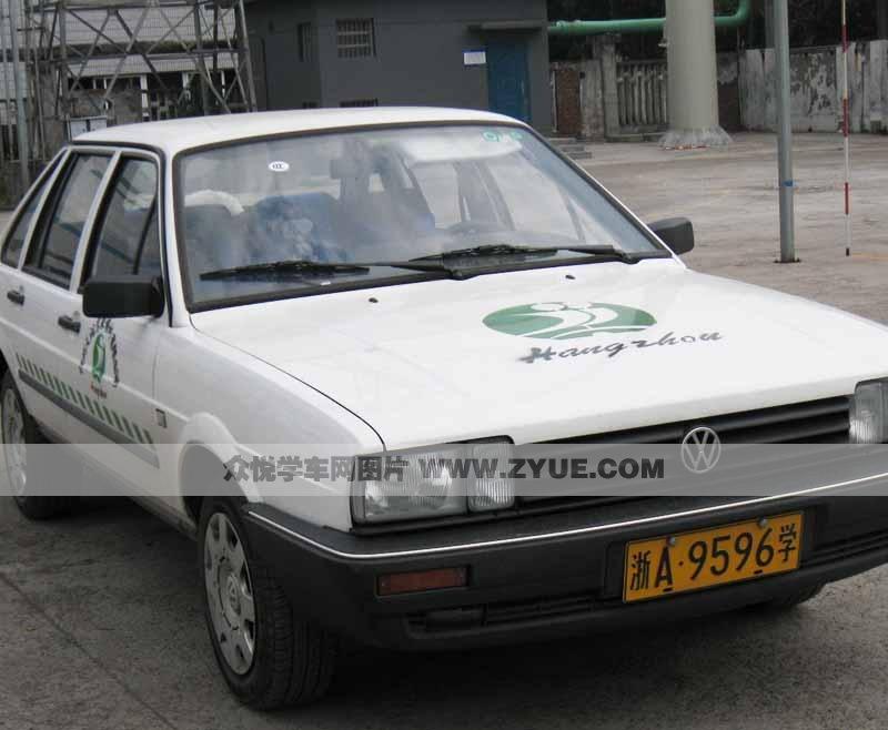 杭州天润驾校普桑教学用车照片