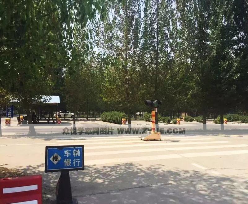 西安警安驾校训练场