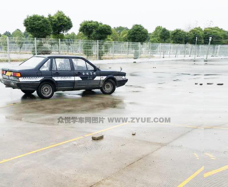 上海金健驾校训练场地