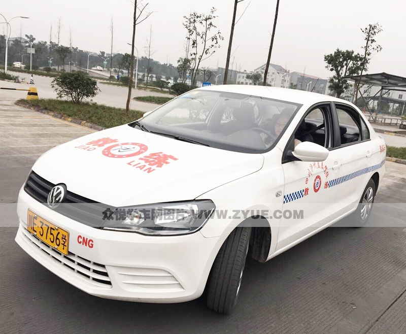泸州蓝泰驾校教练车展示