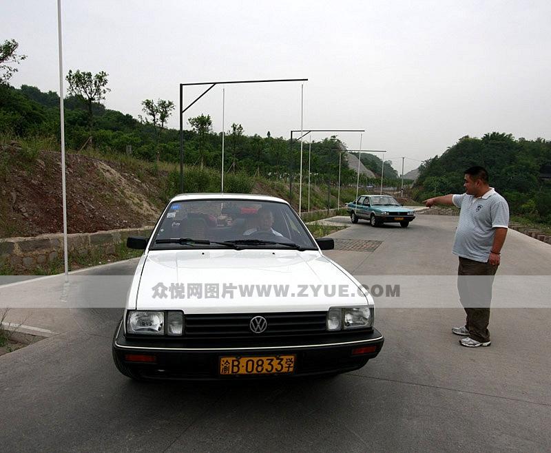 重庆普桑教练车_