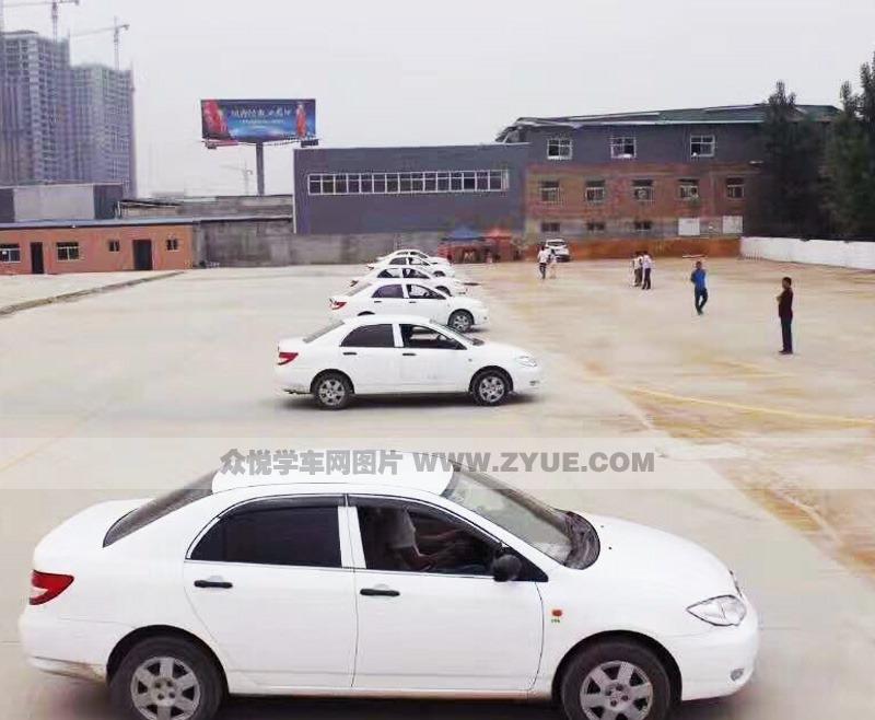 西安南区华津驾校教练车展示