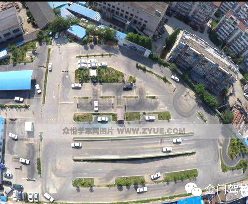 南京金元门驾校俯瞰图