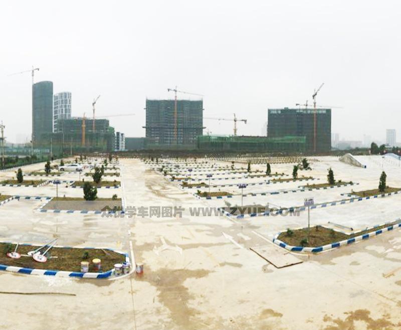 南宁儒春堂驾校训练场鸟瞰图