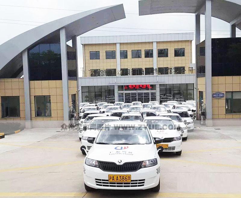 上海广源驾校教练车风采