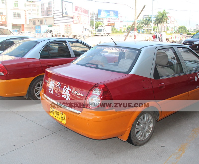 广安驾校训练车型