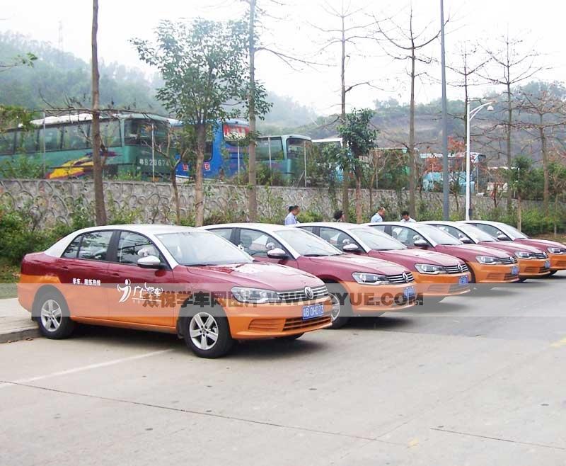 广仁陪驾训练车型