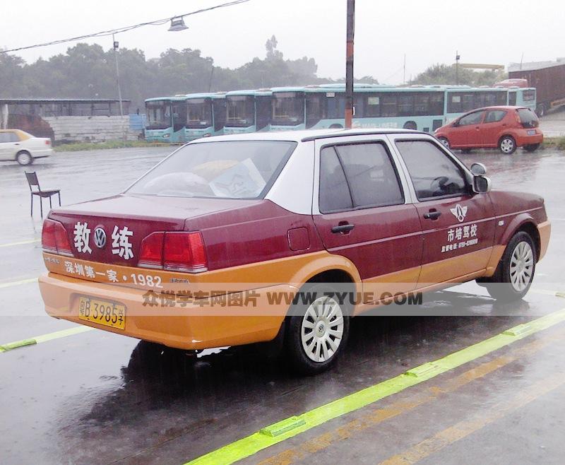 深圳市培 驾校 市培 驾校c1教练车 高清图片