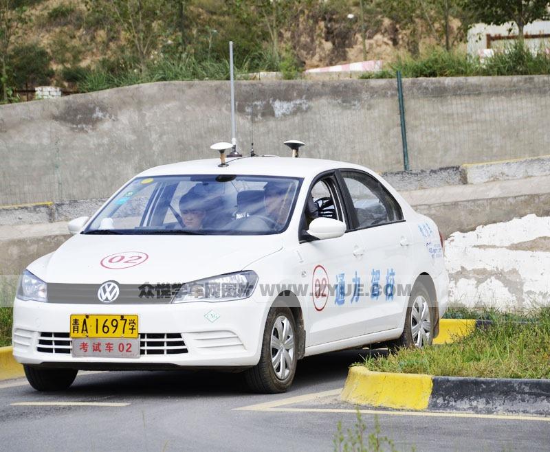 西宁通力驾校考试车