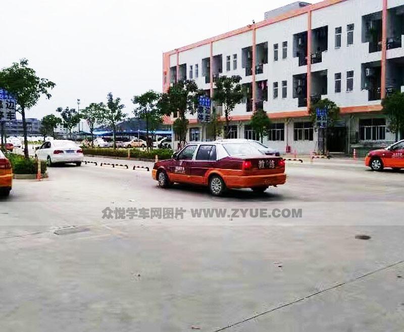 深圳优路达驾校训练场地