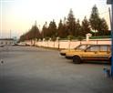 巴士驾校围墙一角