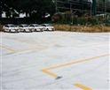 福凯驾校训练场边教练车